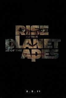 Rise of the Planet of the Apes 2011 poster
