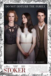 Stoker (2013) cover