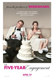 The Five-Year Engagement (2012) cover