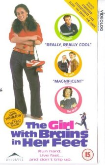 The Girl with Brains in Her Feet 1997 poster