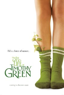 The Odd Life of Timothy Green 2012 poster