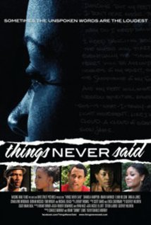 Things Never Said (2012) cover