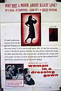 Woman in a Dressing Gown (1957) cover