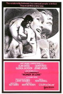 Women in Love 1969 poster