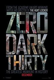 Zero Dark Thirty 2012 poster