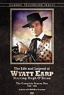 The Life and Legend of Wyatt Earp (1955) cover