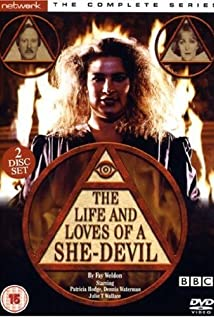 The Life and Loves of a She-Devil 1986 poster