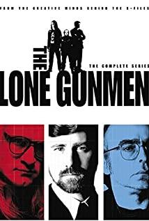 The Lone Gunmen 2001 poster