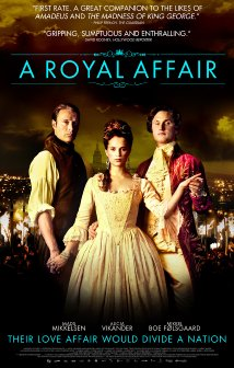En kongelig affære (2012) cover