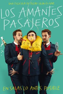 Los amantes pasajeros (2013) cover