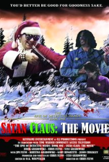 The Epic of Detective Mandy: Book One - Satan Claus (1989) cover