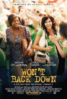 Won't Back Down (2012) cover