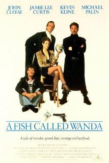 A Fish Called Wanda 1988 poster