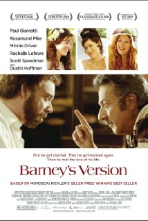 Barney's Version (2010) cover