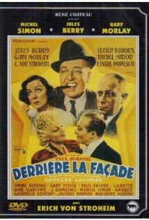 Derrière la façade (1939) cover
