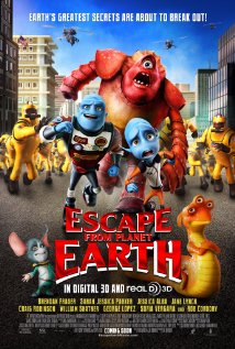 Escape from Planet Earth (2013) cover