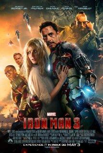 Iron Man 3 2013 poster