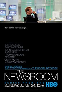 The Newsroom (2012) cover
