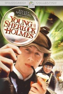 Young Sherlock Holmes 1985 poster