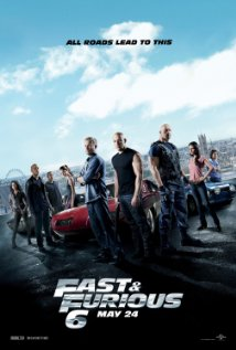 Furious 6 (2013) cover