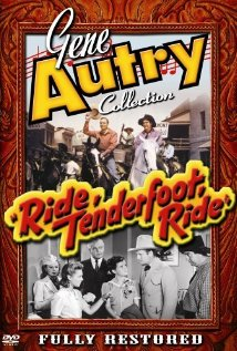 Ride, Tenderfoot, Ride (1940) cover