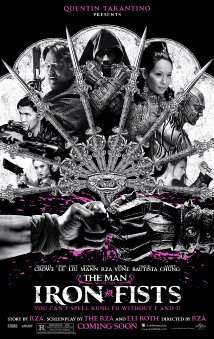 The Man with the Iron Fists 2012 poster