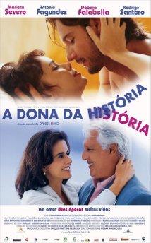 A Dona da História (2004) cover