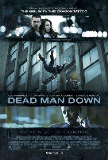 Dead Man Down 2013 poster