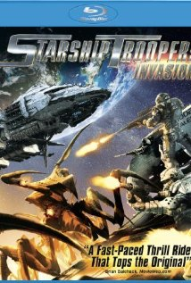 Starship Troopers: Invasion (2012) cover