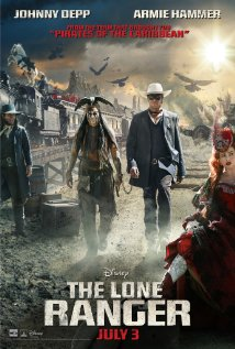 The Lone Ranger (2013) cover