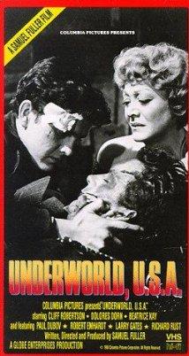 Underworld U.S.A. 1961 poster