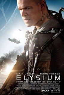 Elysium (2013) cover