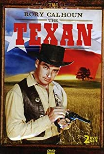 The Texan 1958 poster