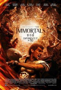 Immortals (2011) cover