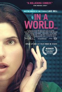 In a World... 2013 poster