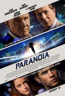 Paranoia (2013) cover