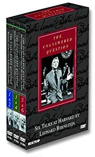 The Unanswered Question: Six Talks at Harvard (1976) cover
