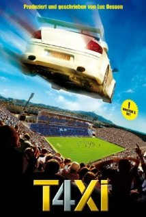 Taxi 4 (2007) cover