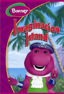 Bedtime with Barney: Imagination Island (1994) cover