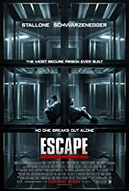 Escape Plan 2013 poster