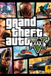 Grand Theft Auto V 2013 poster