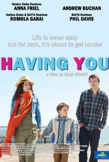 Having You (2013) cover