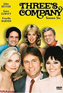 Three's Company (1976) cover