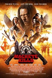 Machete Kills 2013 poster