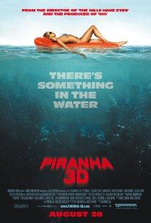Piranha 3D (2010) cover