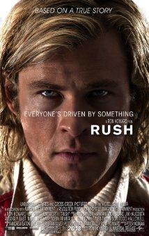 Rush 2013 poster