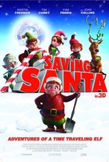 Saving Santa (2013) cover