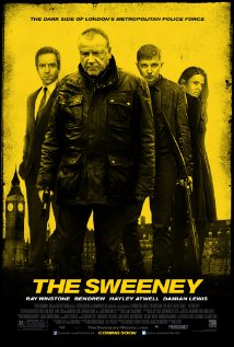 The Sweeney 2012 poster