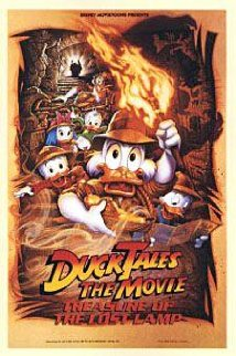 DuckTales the Movie: Treasure of the Lost Lamp (1990) cover