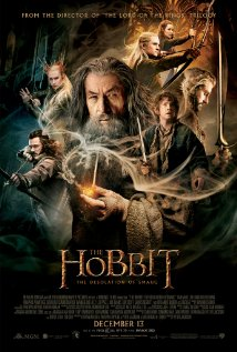 The Hobbit: The Desolation of Smaug (2013) cover